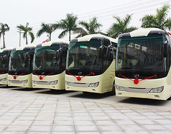 深圳五洲龙旅游大巴改装案例