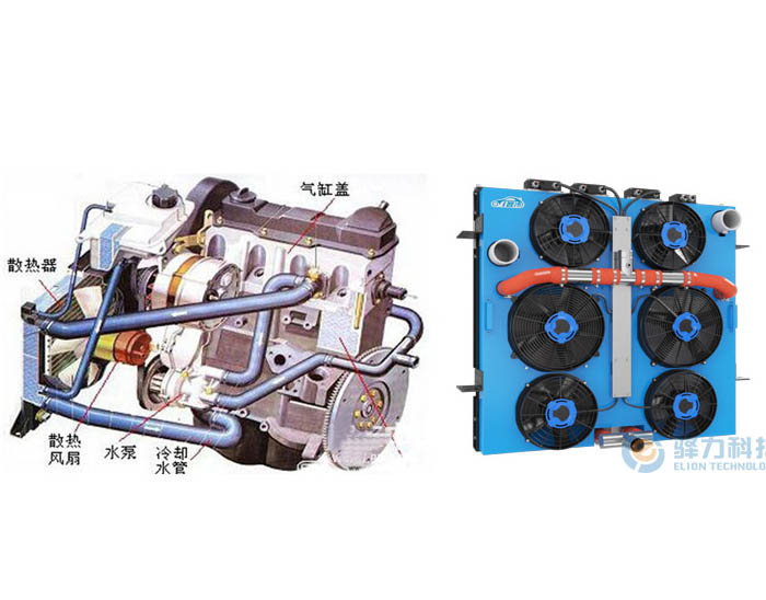 驿力电子风扇智能温控发动机冷却系统与传统发动机冷却系统的区别