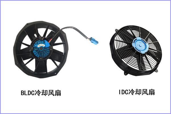 纯电动汽车驱动电机冷却风扇选型