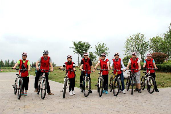 驿力科技阳澄湖骑行比赛第二组