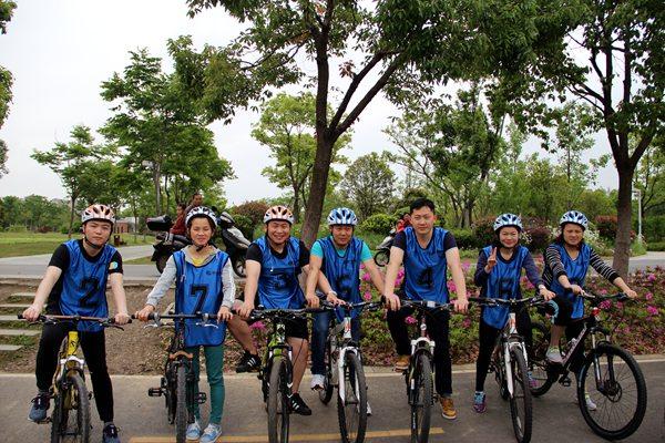 驿力科技阳澄湖骑行比赛第三组