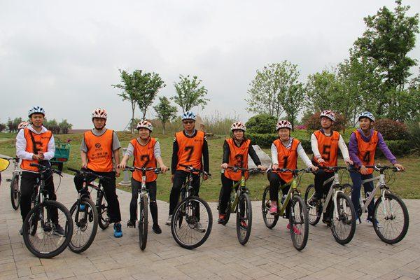 驿力科技阳澄湖骑行比赛第四组