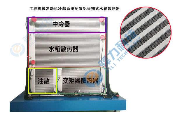 发动机冷却系统是否可以用板翅式水箱散热器