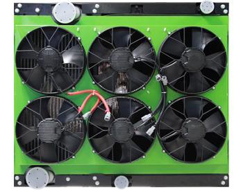 常规动力发动机冷却系统