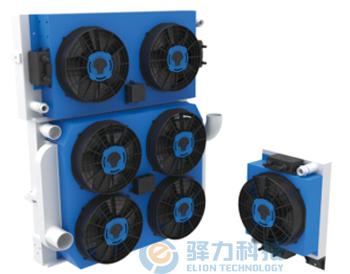 分体工程机械发动机冷却系统
