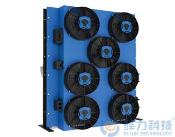 一体工程机械发动机冷却系统