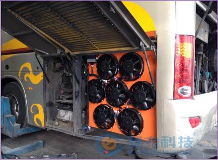 发动机冷却系统改装-厦门金龙大客车-苏汽集团