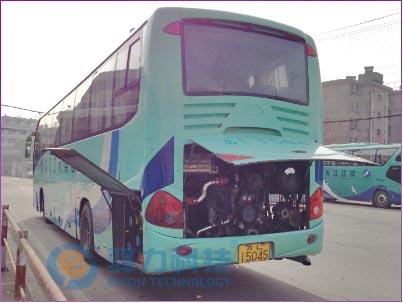 发动机冷却系统改装-厦门金龙大客车-镇江江天客运集团