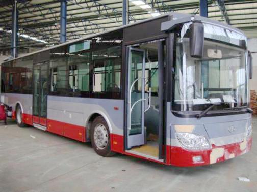 安凯客车10米气电混合动力公交客车ATS智能冷却系统案例