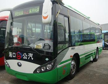 海口公交宇通客车LNG天然气公交车配置ATS电子风扇案例
