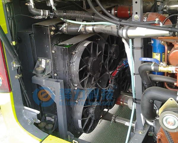 发动机独立冷却系统特点
