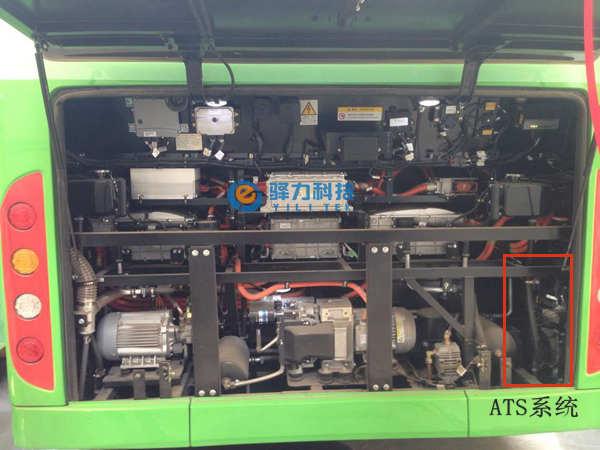 西安公交比亚迪K8新能源客车散热系统-ATS冷却系统案例