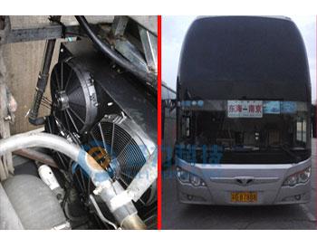 大巴车客车水温高改装发动机冷却系统案例
